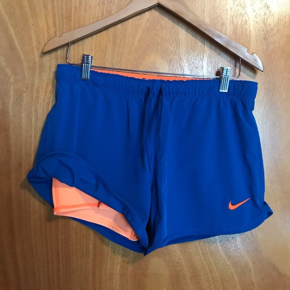 Dri-Fit Nike layered athletic shorts